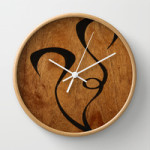 Endangered Wall Clock